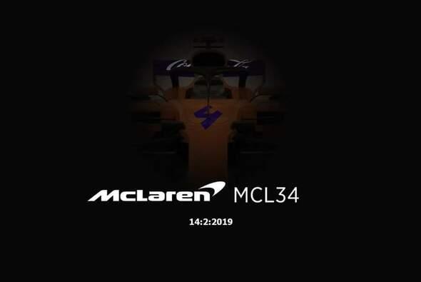Das von McLaren zum Fake erklärte Foto aus den sozialen Netzwerken - Foto: Twitter / F1HLM