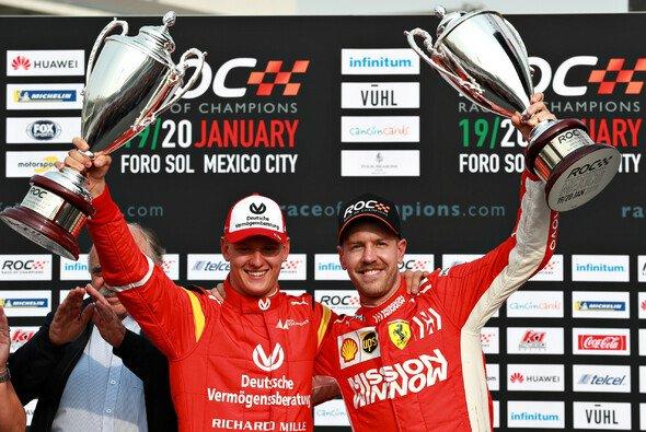Im Teamwettbewerb fuhren Vettel und Schumacher den zweiten Platz ein - Foto: ROC
