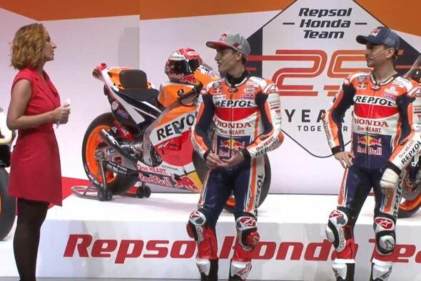 Marc Marquez und Jorge Lorenzo sind noch nicht topfit - Foto: Repsol Honda/Screenshot