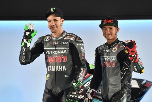 Franco Morbidelli will Valentino Rossi auf der Yamaha schlagen - Foto: Petronas Yamaha SRT