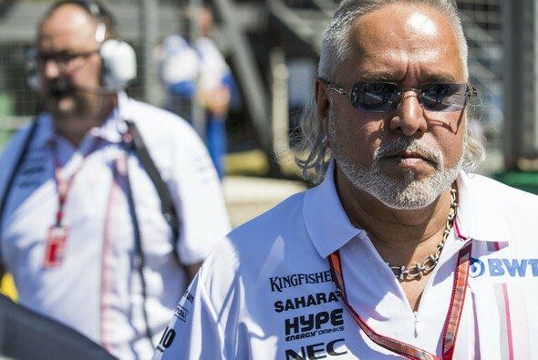 Ex-Formel-1-Teamchef Vijay Mallya soll nach dem Beschluss Großbritanniens an Indien ausgeliefert werden - Foto: LAT Images
