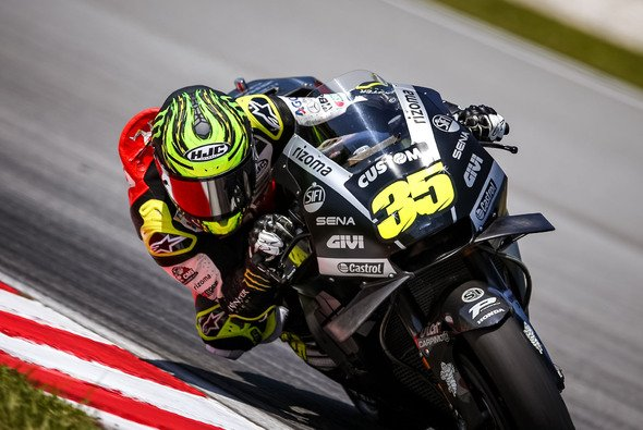 Cal Crutchlow wurde an Tag eins in Sepang 14. - Foto: gp-photo.de/Ronny Lekl