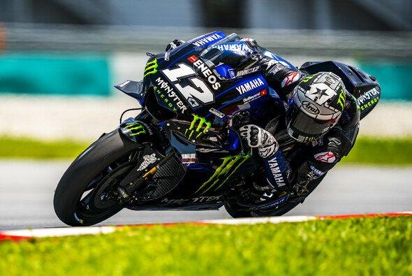 Maverick Vinales gab am Donnerstag ein kräftiges Lebenszeichen von sich - Foto: Yamaha