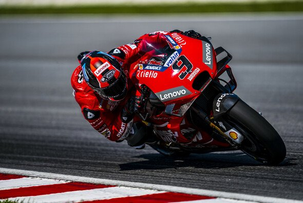 Danilo Petrucci profitiert von Andrea Dovizioso - Foto: Ducati