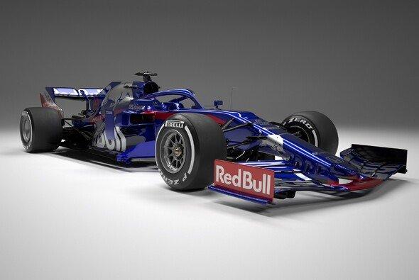 Das ist der neue Sucederia Toro Rosso STR14 - Foto: Red Bull