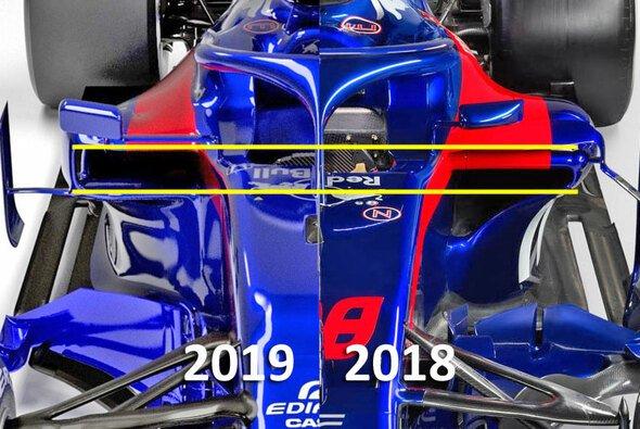 Toro Rosso hat den Boliden für die Formel-1-Saison 2019 gravierend umgebaut - Foto: Red Bull Content Pool