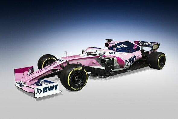 Mit diesem Design geht SportPesa Racing Point 2019 in seine erste Formel-1-Saison - Foto: SportPesa Racing Point