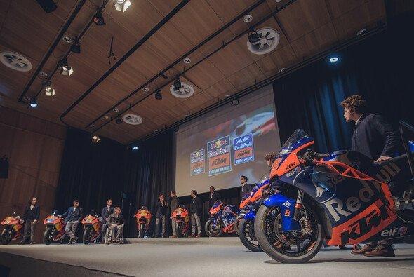 So beeindruckend präsentierte sich KTM in Mattighofen - Foto: KTM