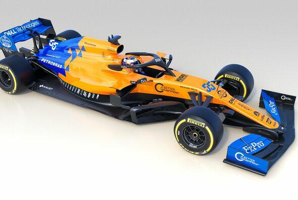 McLaren präsentiert den neuen MCL34, und addiert blau zu orange - Foto: McLaren