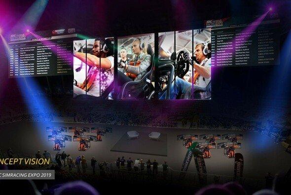 Die ADAC SimRacing Expo 2019 fährt mit einem neuen Konzept auf - Foto: Simracing Expo