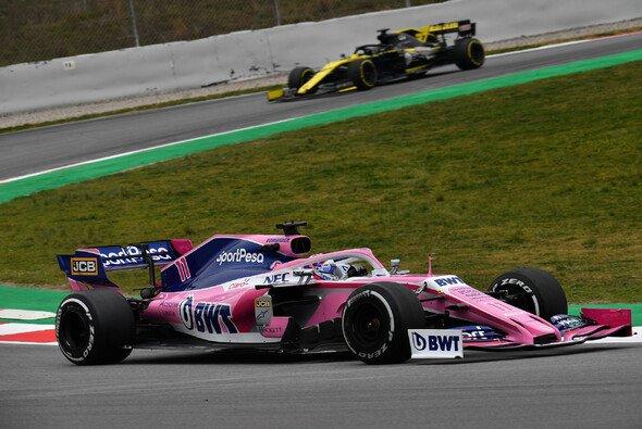 Racing Point startet zum ersten Mal mit viel Geld in den Barcelona-Test - Foto: LAT Images
