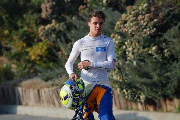 Lando Norris ist einer von vier Rookies in der Formel-1-Saison 2019. - Foto: LAT Images