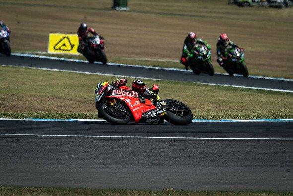 Alvaro Bautista setzte sich wieder gegen die Kawasakis durch - Foto: Ducati
