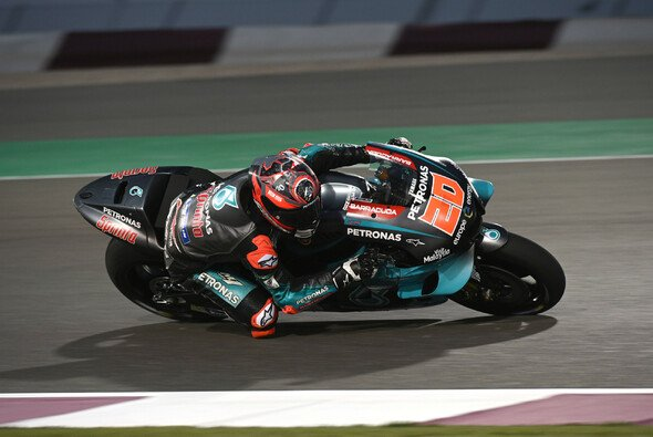 Fabio Quartararo zeigte bei den Tests in Katar starke Leistungen - Foto: LAT Images