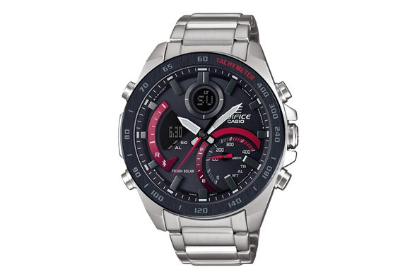 Die Connected Watch ECB-900 bringt Rennsport ans Handgelenk - Foto: Casio