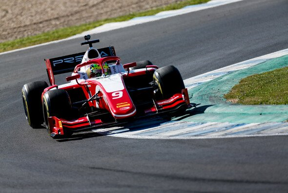 Mick Schumacher fuhr am zweiten Formel-2-Testtag auf Platz fünf - Foto: FIA Formula 2