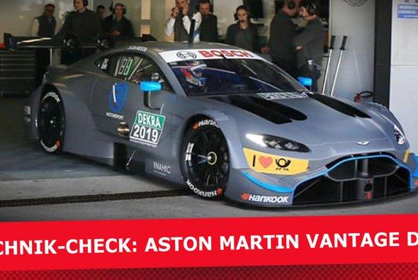 Der neue Aston Martin Vantage DTM im Technik-Check - Foto: R-Motorsport