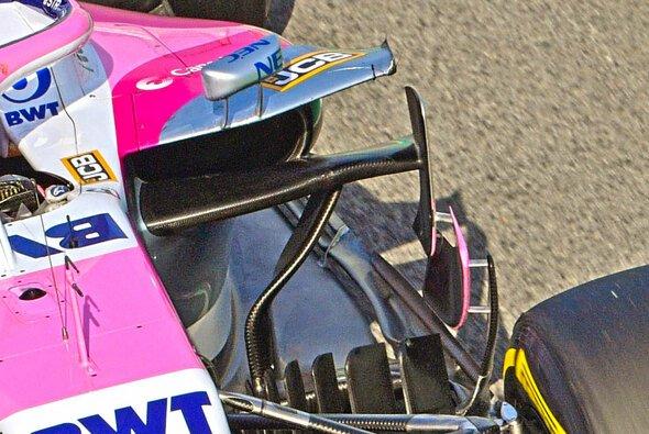 Die Seitenkästen des Racing Point RP19 wurden komplett überarbeitet - Foto: Racing Point