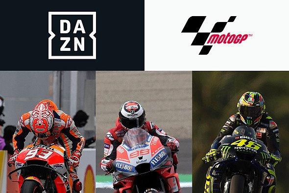 Ganz aus dem DAZN-Programm verschwinden soll die MotoGP 2020 nicht - Foto: DAZN