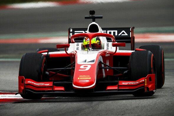 Mick Schumacher fuhr am letzten Testtag ins Mittelfeld - Foto: FIA Formula 2