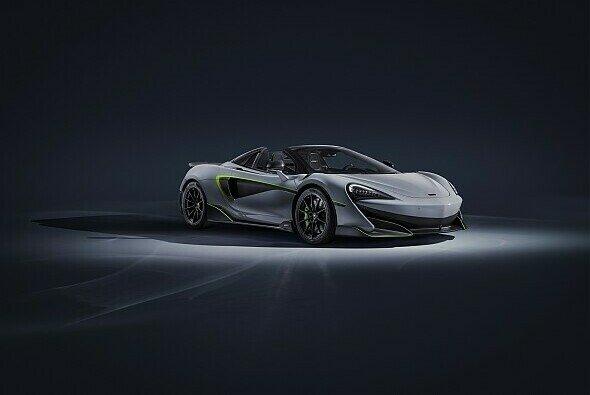 Mit neuem Design wird der 600LT Spider in Genf präsentiert - Foto: McLaren