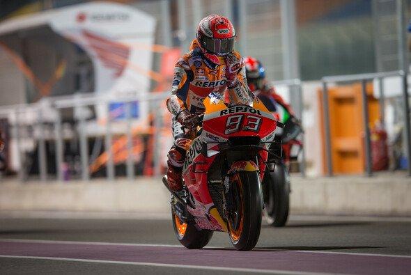 Marc Marquez stellte sich nach dem ersten MotoGP-Freitag wieder ganz vorne auf - Foto: Tobias Linke