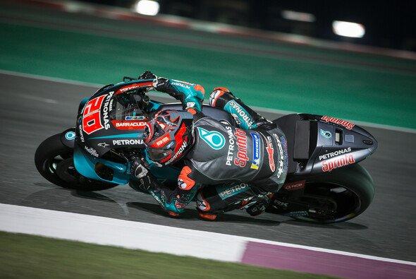 Fabio Quartararo konnte bei seinem ersten MotoGP-Qualifying in Katar glänzen - Foto: Tobias Linke