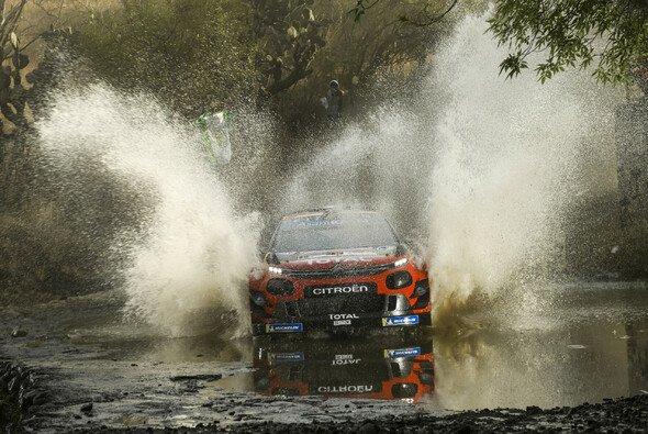 Sebastien Ogier gewann zum fünften Mal die Rallye Mexiko - Foto: LAT Images