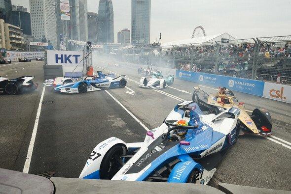 Auf viel Action können sich die Fans der Formel E auch in Sanya freuen. - Foto: LAT Images