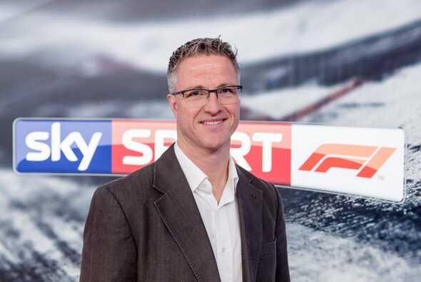 Ralf Schumacher ersetzte beim Sky-Comeback Experte Marc Surer - Foto: Sky