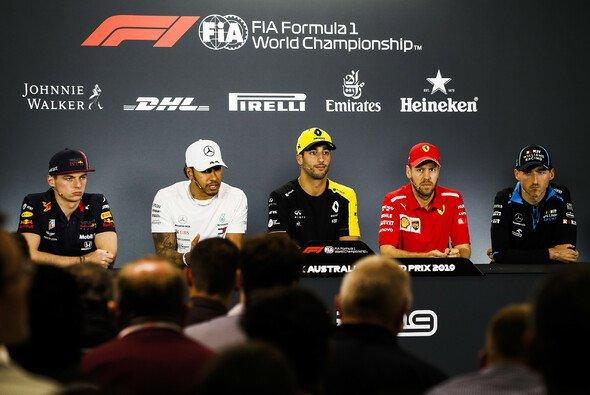 Die erste FIA-Pressekonferenz der F1-Saison 2019 war hochkarätig besetzt - Foto: LAT Images