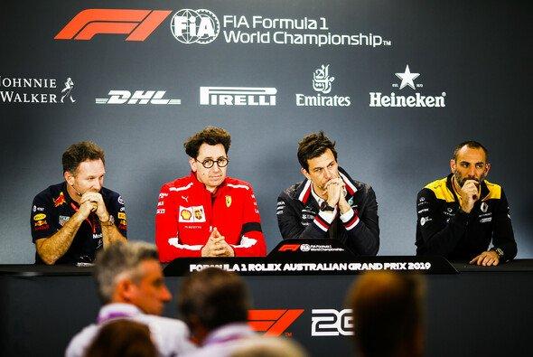Die Teamchef-Pressekonferenz der Formel 1 in Australien - Foto: LAT Images