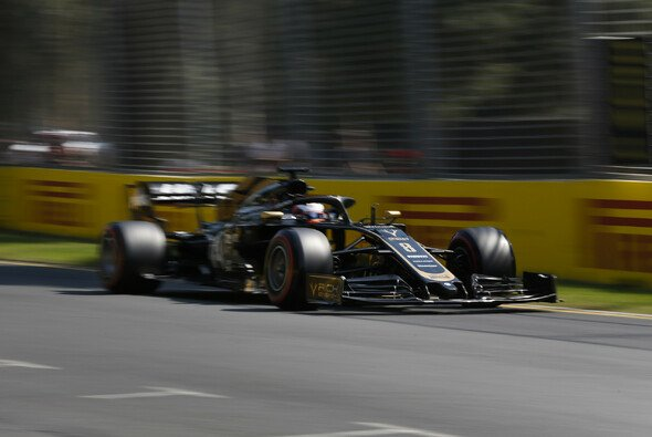 Romain Grosjean fiel in Australien zum zweiten Mal in Folge in aussichtsreicher Position aus - Foto: LAT Images