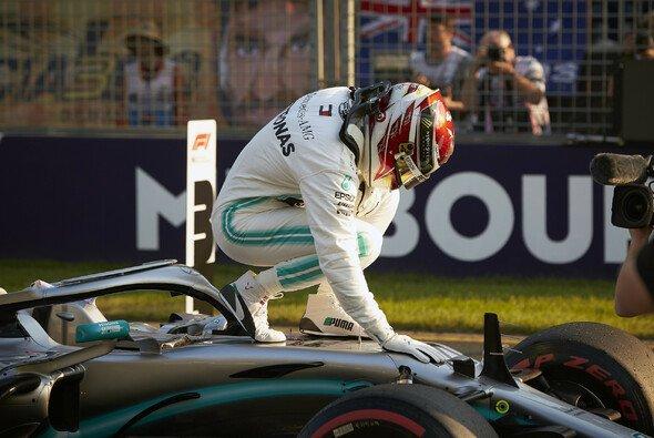 Lewis Hamilton knackte mit seiner Pole in Melbourne den nächsten Rekord - Foto: Mercedes-Benz