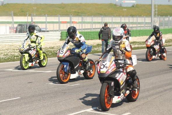 Einführungslehrgang 2019 auf Grand-Prix-Strecke in Misano - Foto: ADAC Junior Cup powered by KTM