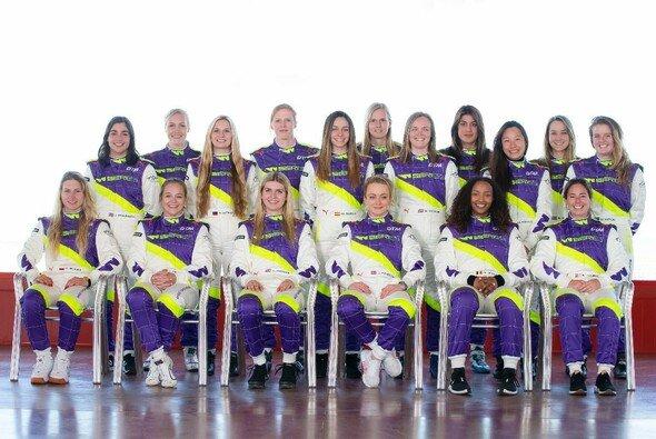 Diese Damen treten 2019 in der neuen W Series im Rahmen der DTM an - Foto: W Series