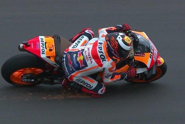 Es hat gefunkt bei Jorge Lorenzo! Zumindest am Freitag - Foto: Screenshot/MotoGP
