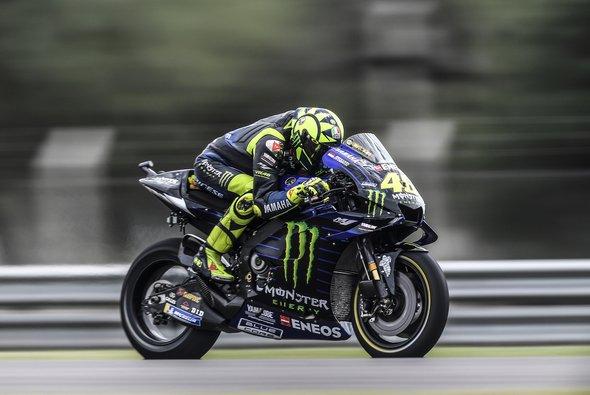 Valentino Rossi startet am Sonntag vom 4. Platz - Foto: Monster Yamaha