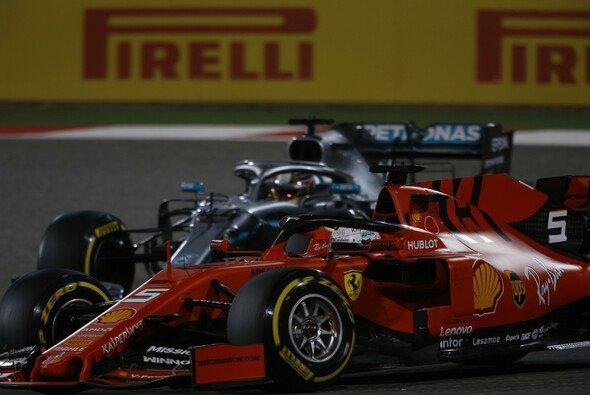 In Bahrain, wie Kanada Powerstrecke, flog Ferrari Mercedes auf und davon - Foto: LAT Images