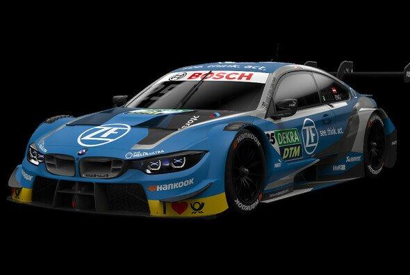 So sieht der BMW M4 DTM von Philipp Eng für 2019 aus - Foto: BMW Motorsport