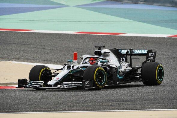 Mercedes holte sich in Bahrain die zweite Tagesbestzeit beim Test - Foto: LAT Images