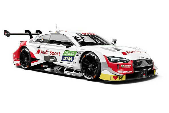 2019 startet Rene Rast erstmals in weiß - Foto: Audi