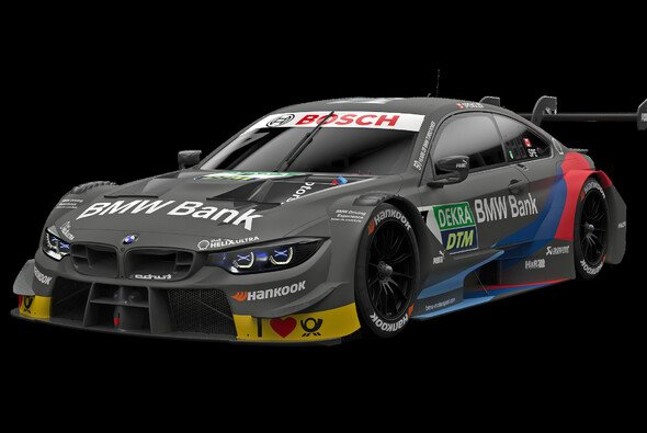 So sieht Bruno Spenglers BMW M4 DTM für die Saison 2019 aus - Foto: BMW Motorsport