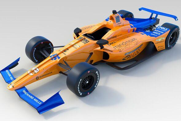 Alonsos Indy-McLaren bekommt dasselbe Design wie der aktuelle F1 - Foto: McLaren