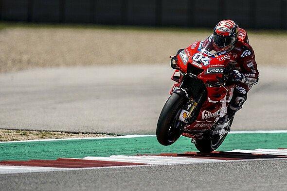 Andrea Dovizioso erlebt bisher ein verkorkstes Austin-Wochenende - Foto: Ducati