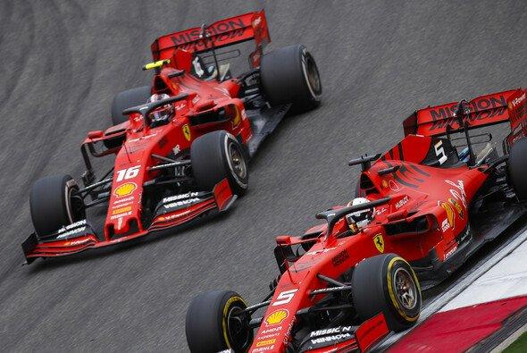 Ferrari ließ Charles Leclerc und Sebastian Vettel in China die Plätze tauschen - Foto: LAT Images