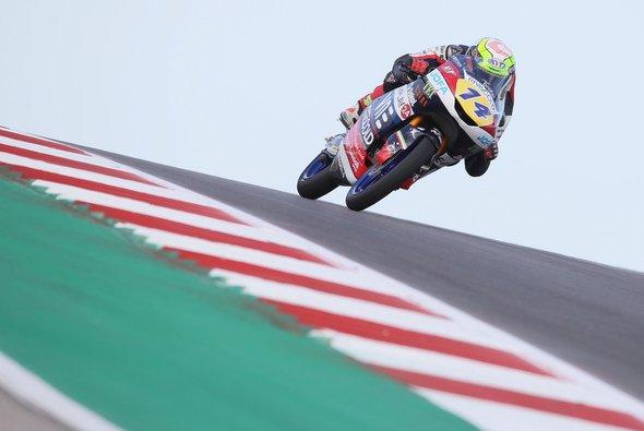 Tony Arbolino starte von der Pole Position in den Brünn_GP - Foto: LAT Images