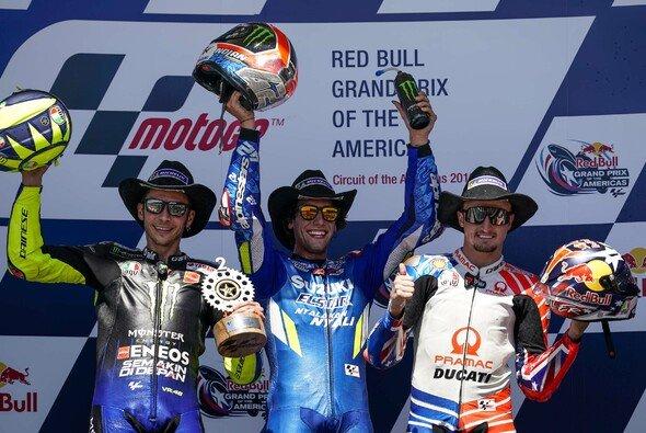 Rossi, Rins und Miller durfen am Sonntag jubeln - Foto: Pramac Racing