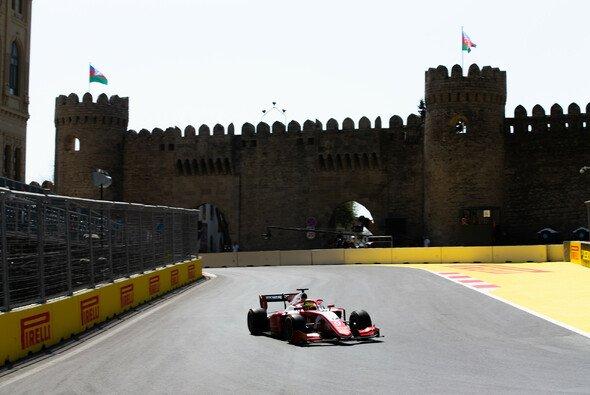 Mick Schumacher schied im Formel-2-Hauptrennen aus - Foto: LAT Images