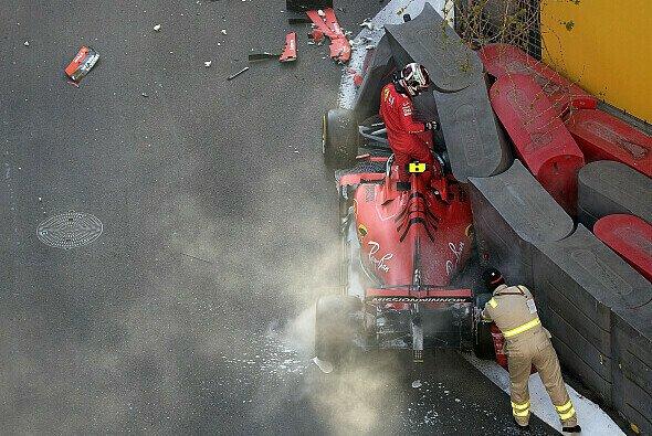 Charles Leclerc in Baku: Kaputter Ferrari anstatt Pole Position - Foto: LAT Images